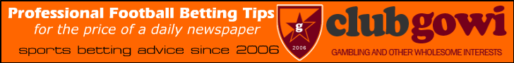 Clubgowi Professional Football Betting Tips